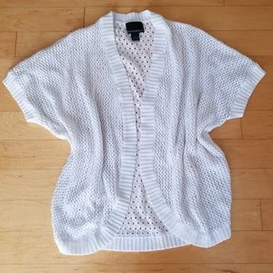 Cynthia Rowley Oversized Crochet Cardigan